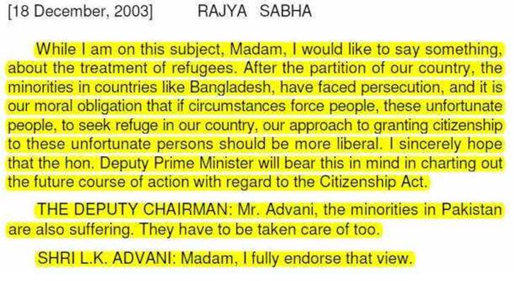 Citizenship Bill, CAB, Congress, hypocrisy, Hindus